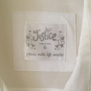 Justice Shirts & Tops - A white blouse